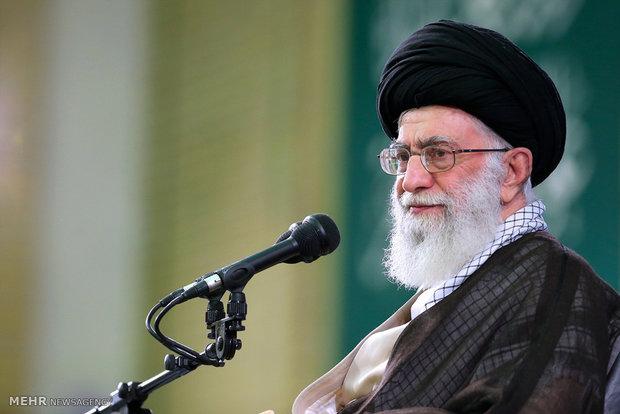 دیدار خانوادههای شهدای هفتم تیر و استان تهران با رهبر معظم انقلاب