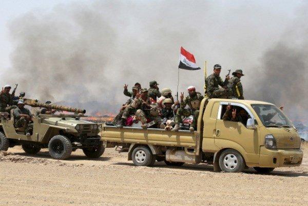 الانبار اور صلاح الدین میں 28 دہشت گرد ہلاک