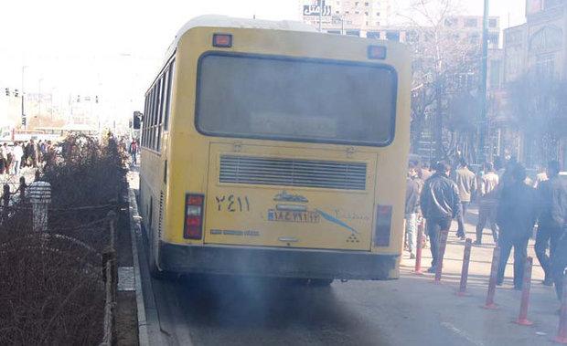 ۷۰ درصد ناوگان اتوبوسرانی ملارد فرسوده است