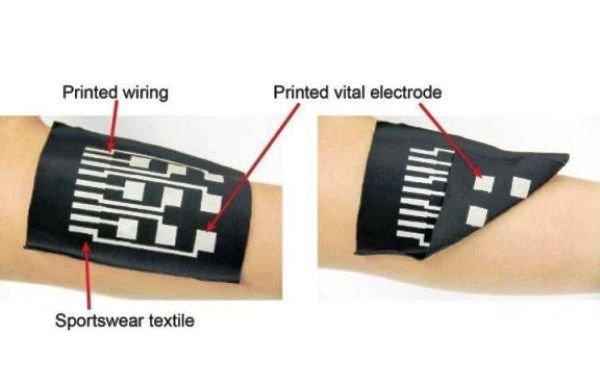 ساخت لباس هوشمند با جوهر رسانا