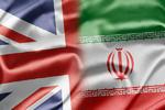 پرچم ایران و انگلیس