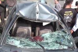 یک کشته بر اثر برخورد یک خودرو با ستون پل در قم