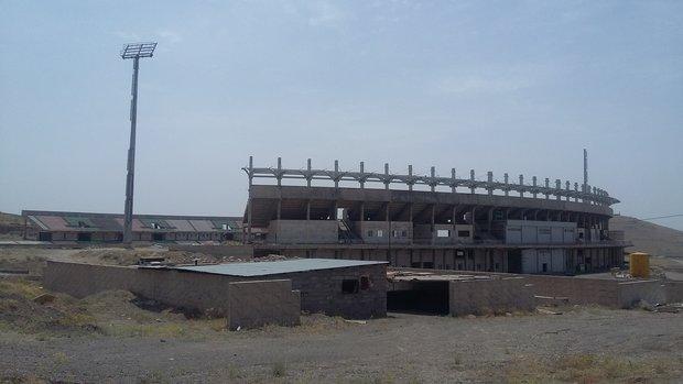 بهره برداری از ورزشگاه ۱۵هزار نفری زنجان در اولویت قرار گرفته است