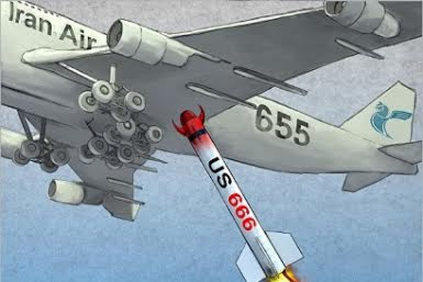 Cartoonists to honor Iran Air Flight 655 anniv.