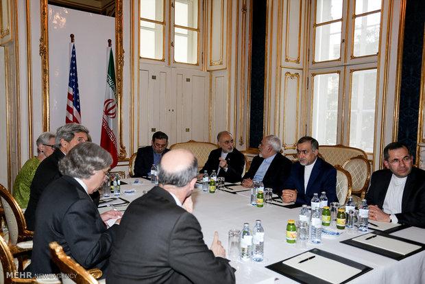 دیدار های وزیر امور خارجه ایران در ششمین روز دور نهایی مذاکرات ایران و ۱+۵