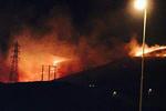 آتش سوزی آبیدر سنندج