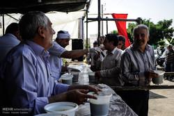 برپایی ۱۵۳ ایستگاه پذیرایی از زائران در مشهد