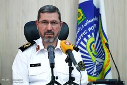 نشست خبری سردار تقی مهری رئیس پلیس راهنمایی و رانندگی ناجا