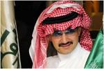 سهم السعودية القابضة يهبط 9.9 بالمئة بعد اعتقال الأمير الوليد بن طلال
