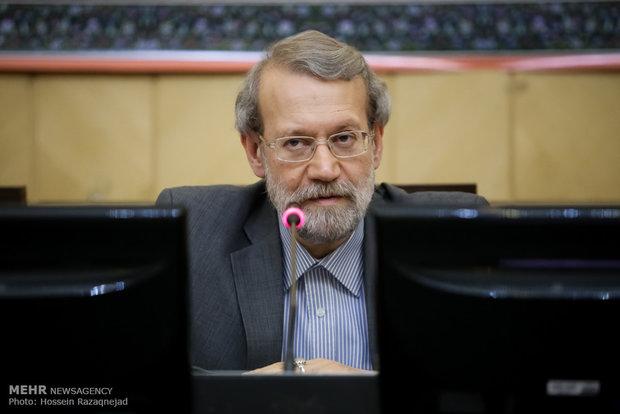 دیدار علی لاریجانی، رئیس مجلس شورای اسلامی با سفرای کشورهای اسلامی