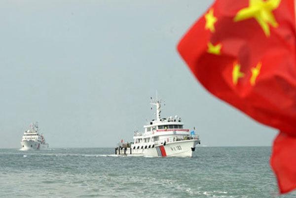 برگزاری رزمایش دریایی آمریکا و انگلیس در قلمرو چین