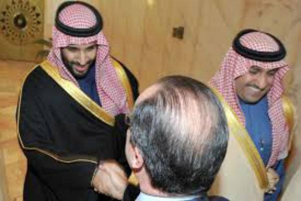 سعود بن سيف النصر  يصف محمد إبن الملك سلمان بالسفيه على التويتر