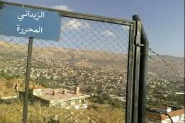 Syrian army advances in Al-Zabadani