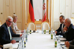 Zarif, Steinmeier sit in 1-hour meeting
