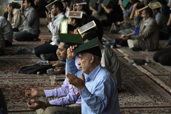 Image result for قرآن بر سر گرفتن