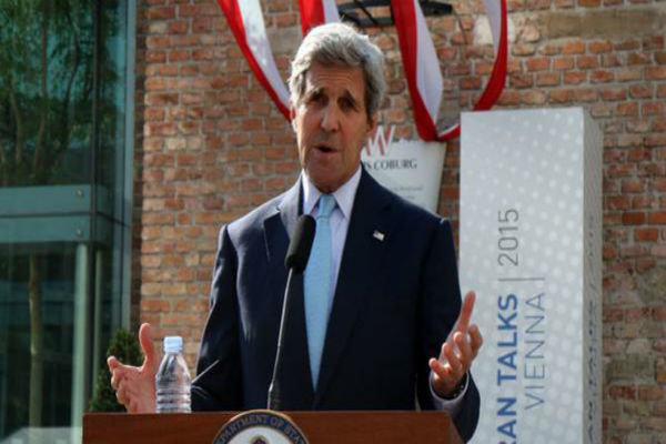 مذاکرات هسته ای ایران, توافق نهایی هسته ای, جان کری, سخنرانی جان کری
