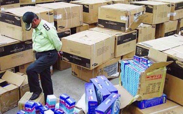 سالانه ۸۰۰ میلیون دلار کالا در مازندران قاچاق می شود