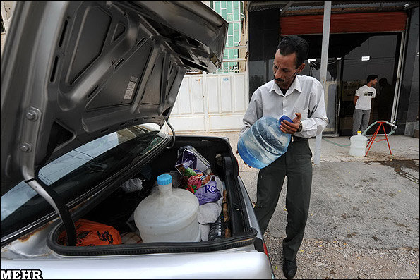 خرید آب شرب در خوزستان