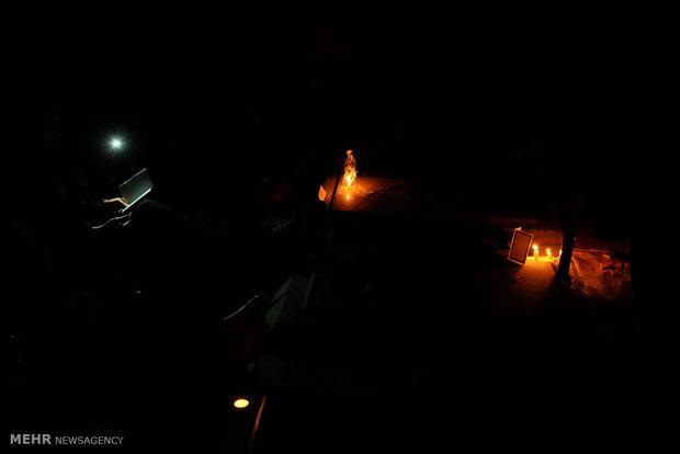 احياء ليلة القدر الثانية في مقبرة جنة الزهراء