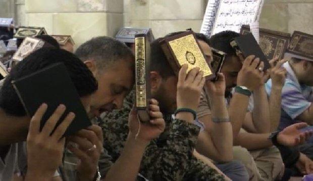 برگزاری مراسم شب های قدر در سوریه