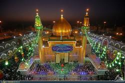 توافد حشود الزائرين المليونية في الحرم العلوي الطاهر في النجف/ فيديو