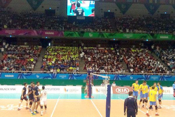 والیبال ایران مقابل اوکراین شکست خورد