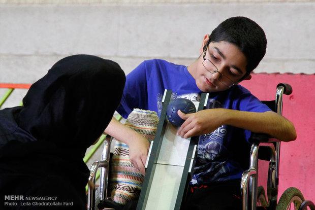 مسابقات بوچیا استان تهران