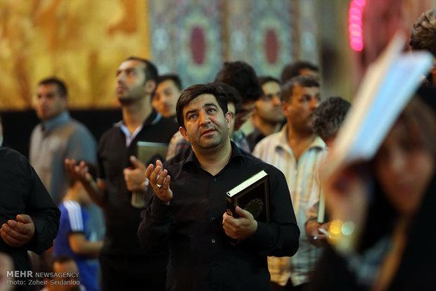 مراسم احیا و عزاداری به مناسبت شهادت امیرالمومنین (ع) در نجف
