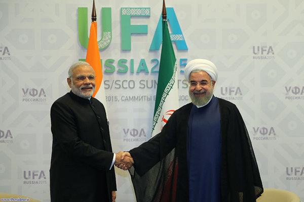 الرئيس روحاني يؤكد أهمية تعزيز العلاقات الايرانية الهندية