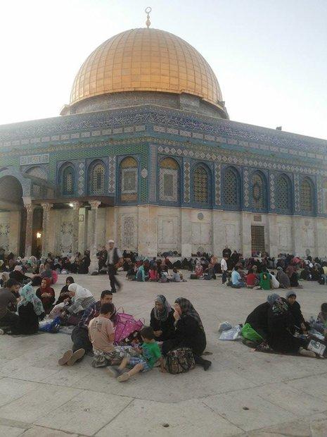 افطاری مسجد الاقصی