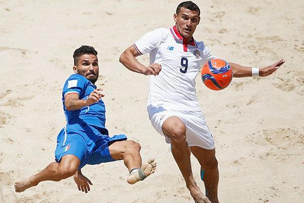 فوتبال ساحلی - ایتالیا - کاستاریکا