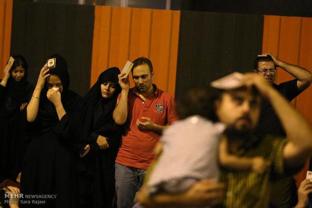 احياء ليلة القدر في طهران