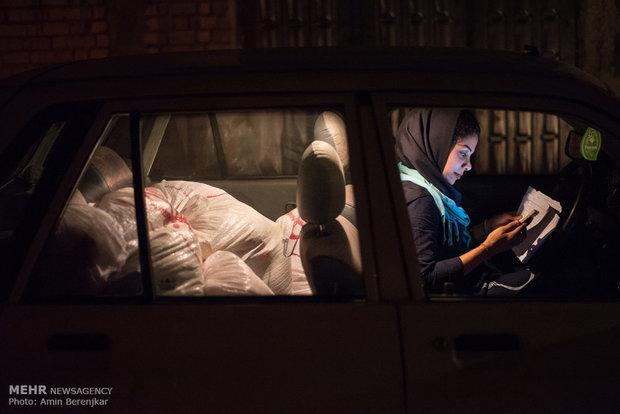اغاثة العوائل المحرومة في ليلة استشهاد اميرالمؤمنين بايران