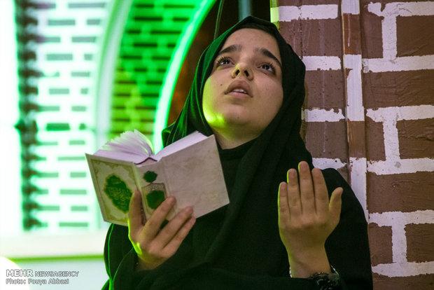 احياء ليلة القدر الثالثة في مدينة تبريز- ايران