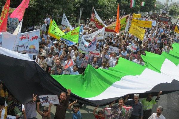 انطلاق المسيرات المليونية في يوم القدس العالمي