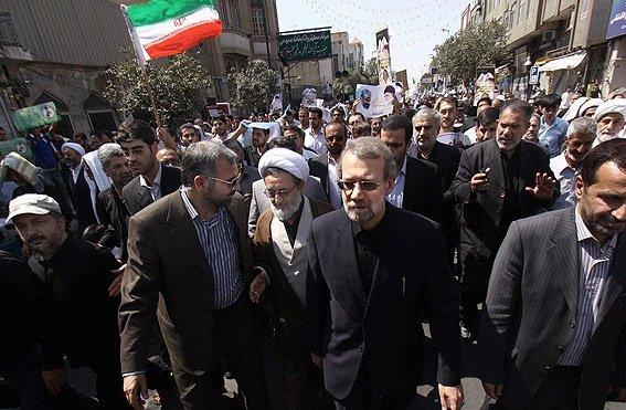 كبار المسؤولين يشاركون في مسيرات يوم القدس العالمي