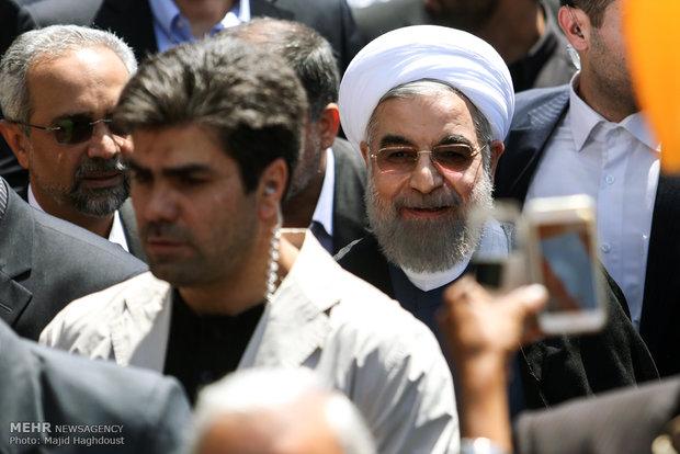 مشاركة رئيس الجمهورية في مسيرات القدس العالمي