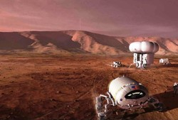 میکروبها نخستین مسافران مریخ