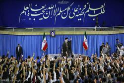 دیدار جمعی از دانشجویان سراسر کشور با رهبر معظم انقلاب
