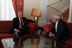 Zarif Meets Fabius, Voronkov, Kerry, Mogherini