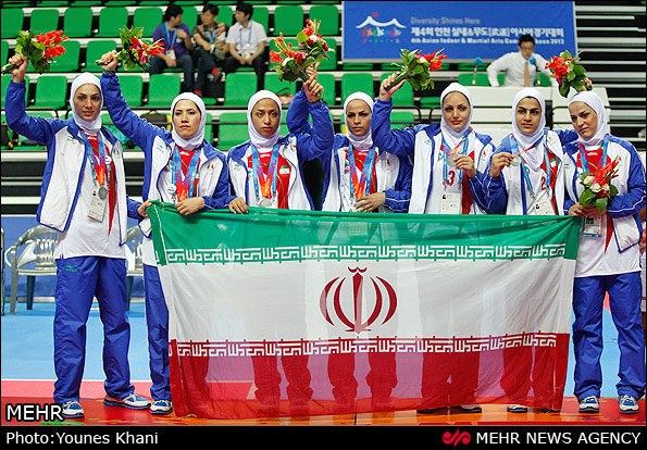 Iranian women athletes on peaks of success, more than ever