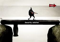 مصر کا داعش کے خلاف کارروائی کے سلسلے میں  سکیورٹی راہ حل