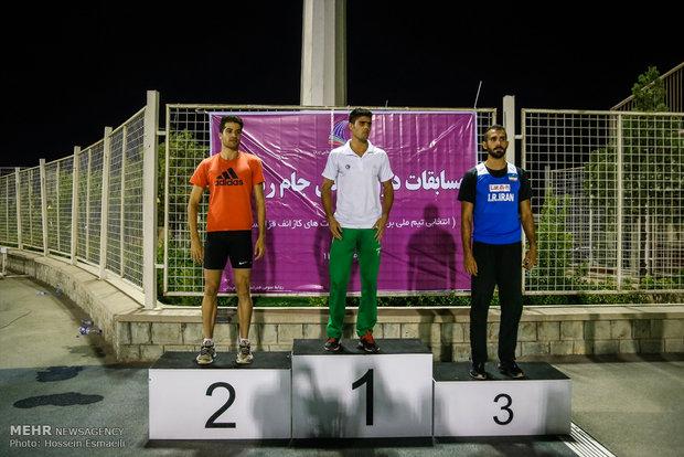 مسابقات العاب القوى في ايران