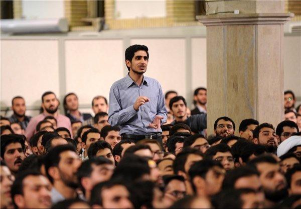 دیدار دانشجویان با رهبری