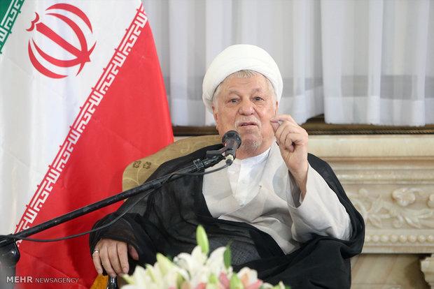 رفسنجاني : ايران  احدثت زلزالا سياسيا في العالم من خلال الاتفاق النووي