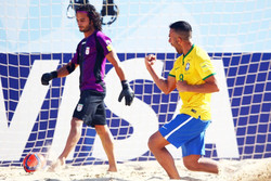 دیدار تیم ملی فوتبال ساحلی ایران با روسیه حیثیتی است نه تشریفاتی