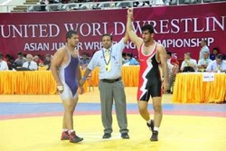 Iran's junior wrestling team finishes third in Asia