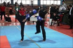 مسابقات کونگ فو و هنرهای رزمی استان مرکزی برگزار شد