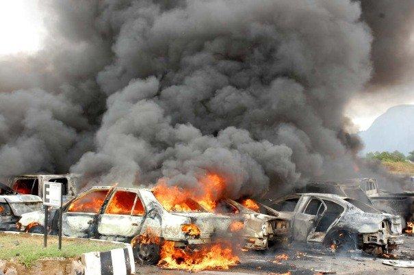 انفجار في حمص وقذائف على كفريا والفوعة