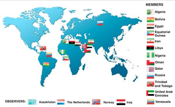 تسليم دعوة روحاني الى بوتين لحضور قمة الدول المصدرة للغاز